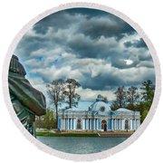 Tsarskoe Selo Round Beach Towel