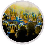 Tunnel Fever Special Round Beach Towel by John Farr