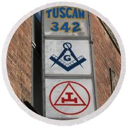 Tuscan 342 Round Beach Towel