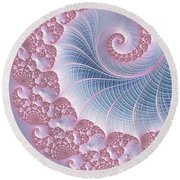 Twirly Swirl Round Beach Towel