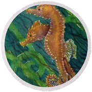 Two By Sea Round Beach Towel