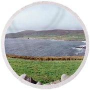Uk, Ireland, Kerry County, Rocks Round Beach Towel