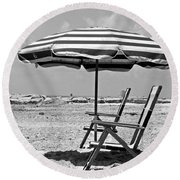 Umbrella Shade Round Beach Towel