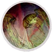 Underwood Balie Round Beach Towel by Irma BACKELANT GALLERIES