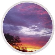Unforgettable Majestic Beauty Round Beach Towel