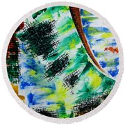 Different Mode Round Beach Towel