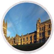University Of Glasgow Round Beach Towel