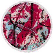 My Bloody Valentine Round Beach Towel