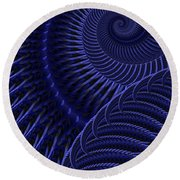 Untitled 12/16/2011 Round Beach Towel