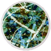 The Emerald City Round Beach Towel