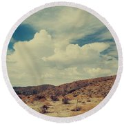 Vast Round Beach Towel