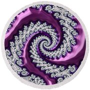 Velvet Round Beach Towel