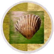 Verde Beach Round Beach Towel by Lourry Legarde