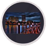 The Eastbank Round Beach Towel