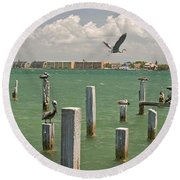 View Toward Cabbage Key From St Round Beach Towel by Panoramic Images