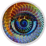 Visionary Round Beach Towel