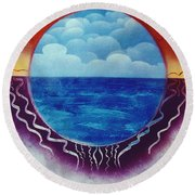 Visions Round Beach Towel