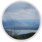 Vivary  Round Beach Towel by George Katechis