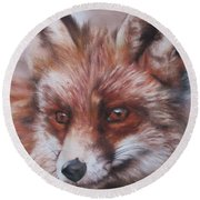 Vixen Round Beach Towel