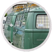Volkswagen Vw Bus Round Beach Towel