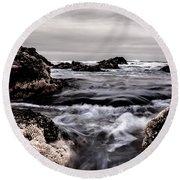 Round Beach Towel featuring the photograph Vortex by Edgar Laureano