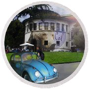 Vw - Uc Berkeley Round Beach Towel