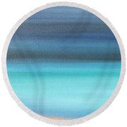 Waiting Round Beach Towel by Jacqueline Athmann