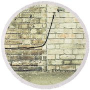 Wall And Wire Round Beach Towel