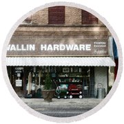 Wallin Hardware Round Beach Towel