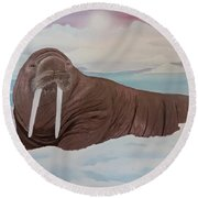 Walter Round Beach Towel