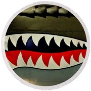 Warhawk Round Beach Towel