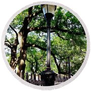 Washington Square Round Beach Towel