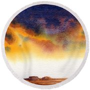 Mesa Round Beach Towel