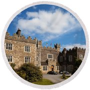 Waterford Castle , County Waterford Round Beach Towel