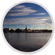 Waterford City, Waterford, Ireland Round Beach Towel
