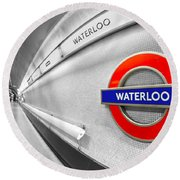 Waterloo Round Beach Towel