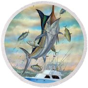 Waterman Round Beach Towel