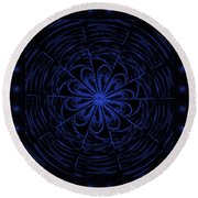 Web String Round Beach Towel