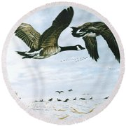 Welcome Home Round Beach Towel by Craig T Burgwardt