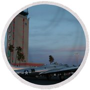 Welcome To Tucson Round Beach Towel by David S Reynolds