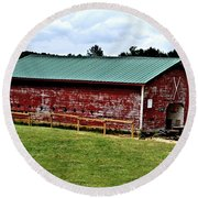 Westminster Stable Round Beach Towel