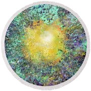 What Kind Of Sun Vii Round Beach Towel
