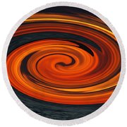 Whirlpool Round Beach Towel by Aimee L Maher Photography and Art Visit ALMGallerydotcom