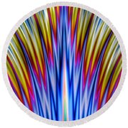 Whoosh Round Beach Towel