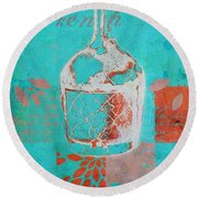 Wild Still Life - 12311a Round Beach Towel