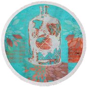 Wild Still Life - 13311a Round Beach Towel