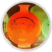 Window Shopping For Glass Round Beach Towel