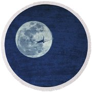 Round Beach Towel featuring the photograph Wings by J Anthony