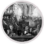 Wise Guys Round Beach Towel