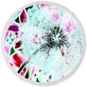 If Wishes Were Horses Round Beach Towel